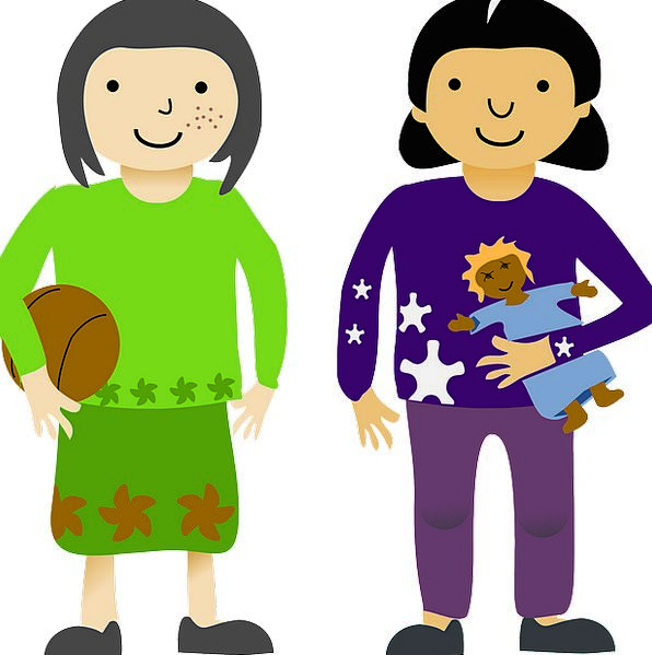 Young clipart young sibling. Girls lassies networks siblings