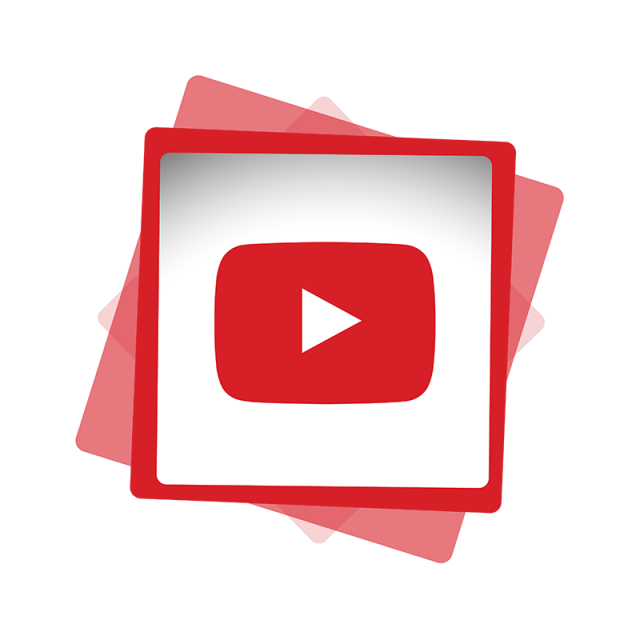 Social media icon png. Youtube clipart abstract