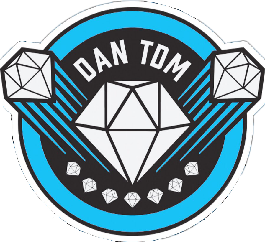Teamtdm dantdm sticker by. Youtube clipart abstract