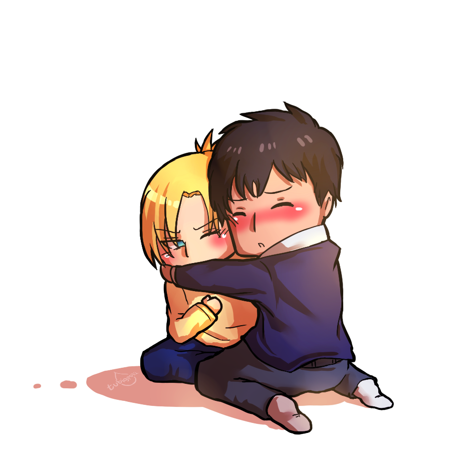 Bertolt hugging annie shingeki. Youtube clipart attack on titan
