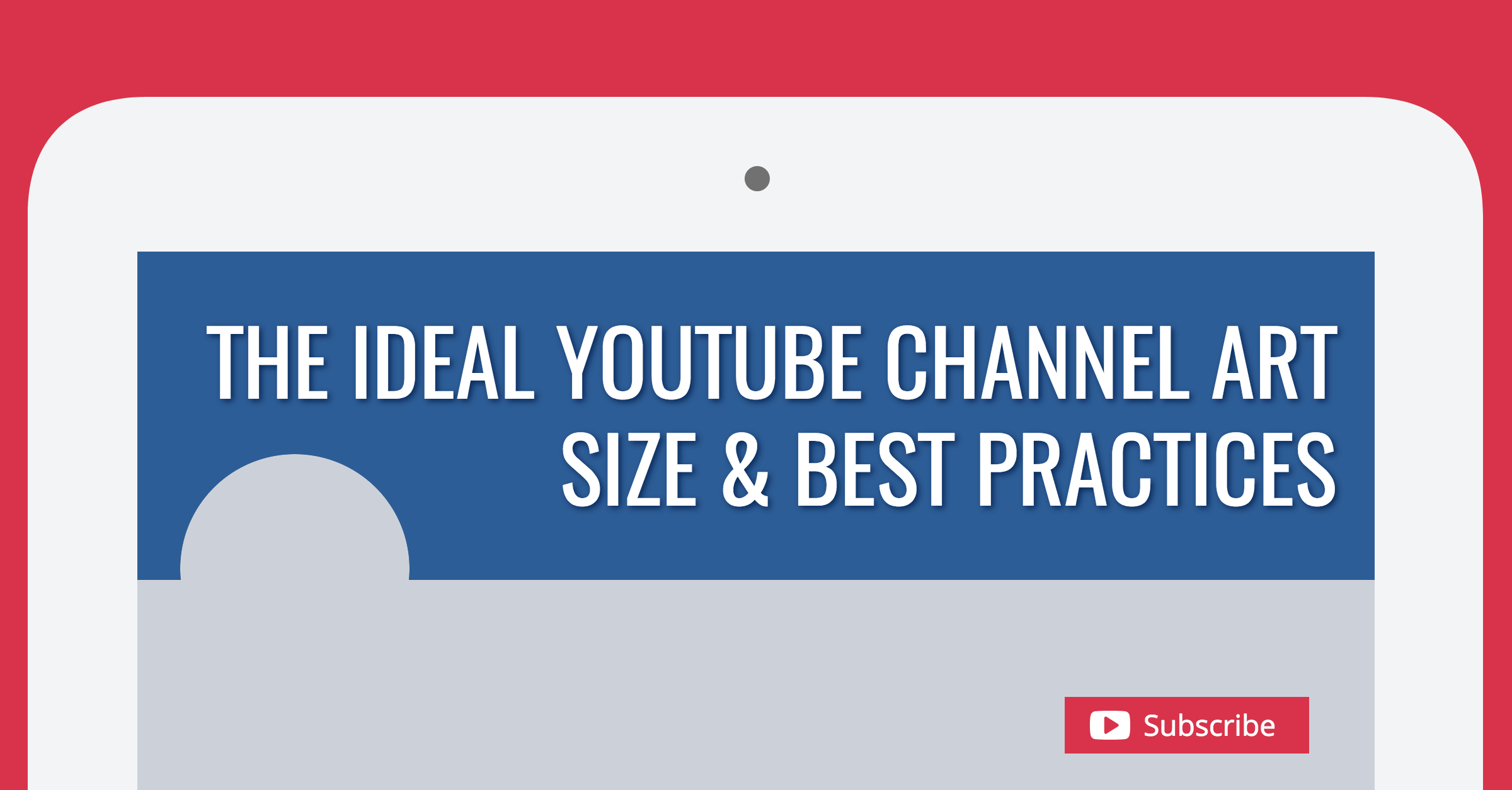 The ideal channel art. Youtube clipart banner