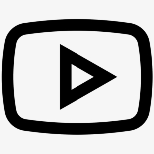 Youtube clipart black. Play button png icono