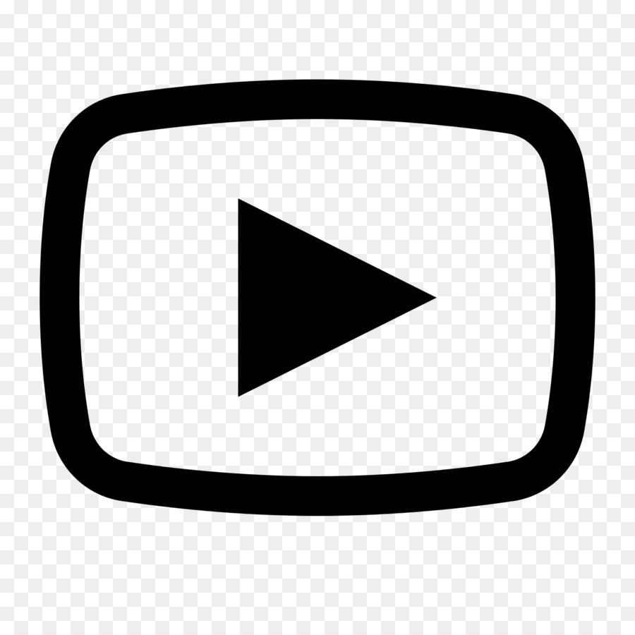 Logo and white . Youtube clipart black
