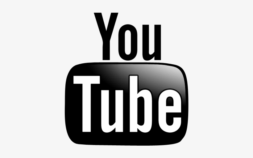 And white icon jpg. Youtube clipart black