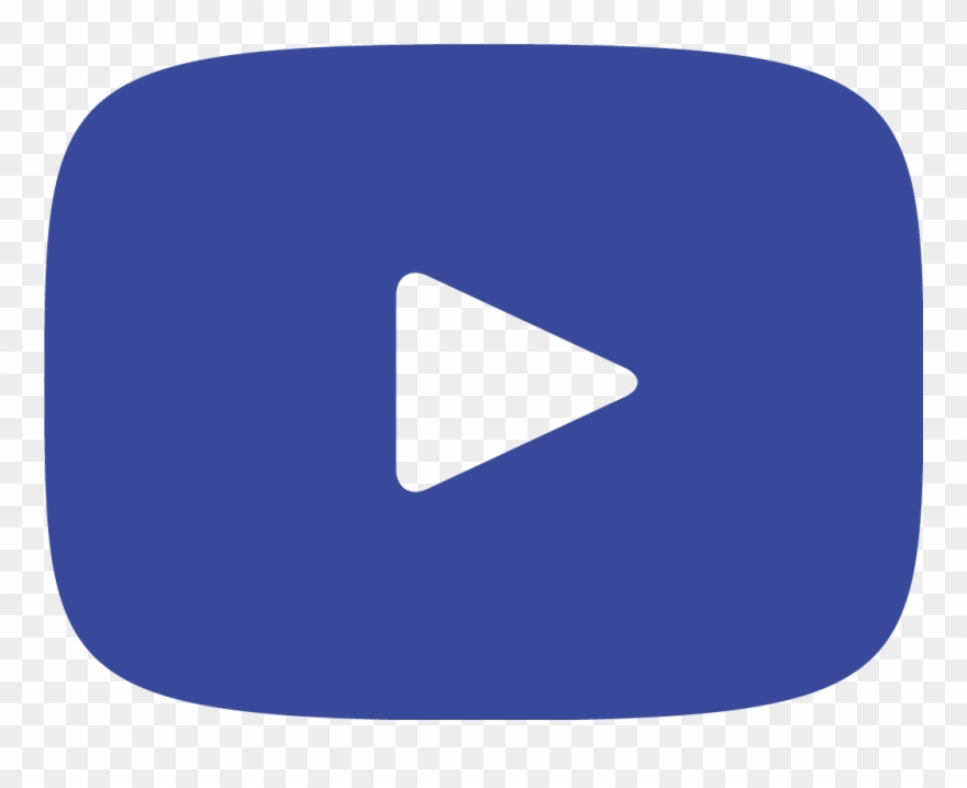 Youtube clipart blue. Twitter facebook instagram logo