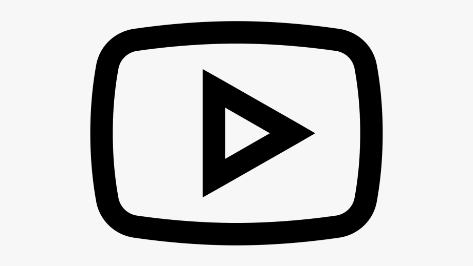 Youtube clipart cartoon. Play button png icono