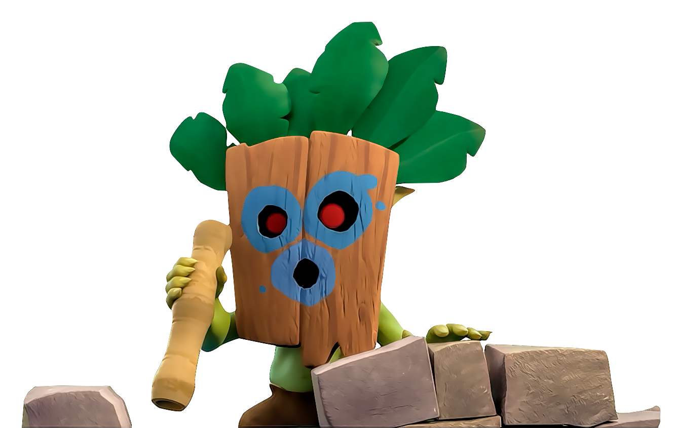 Youtube clipart clash royale. Image dart goblin png