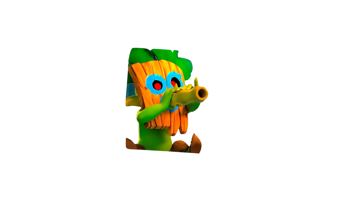 Youtube clipart clash royale. Dart goblin png by