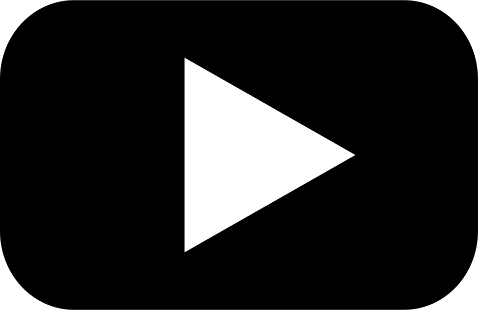 Play button png group. Youtube clipart dark
