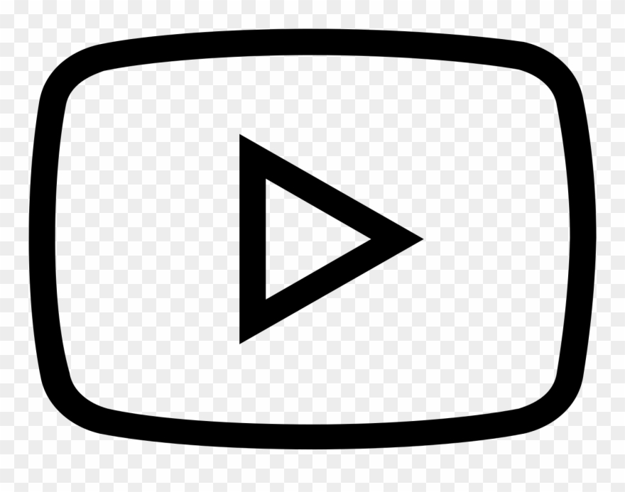 Youtube clipart dark. Png black icono blanco