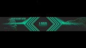 Banner template x . Youtube clipart destiny