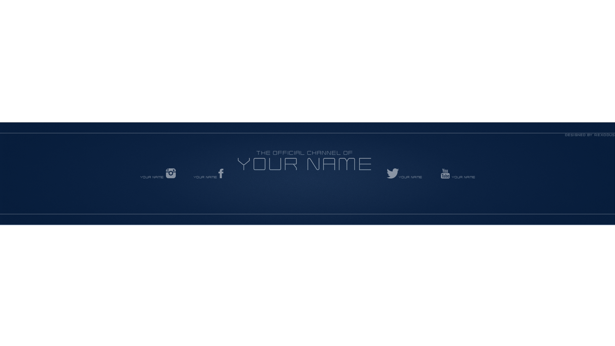 awesome banner template. Youtube clipart dimension