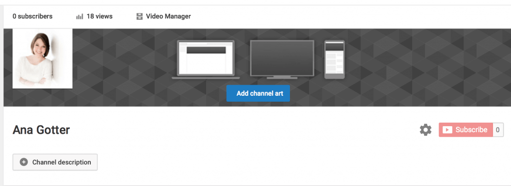 The ideal channel art. Youtube clipart dimension