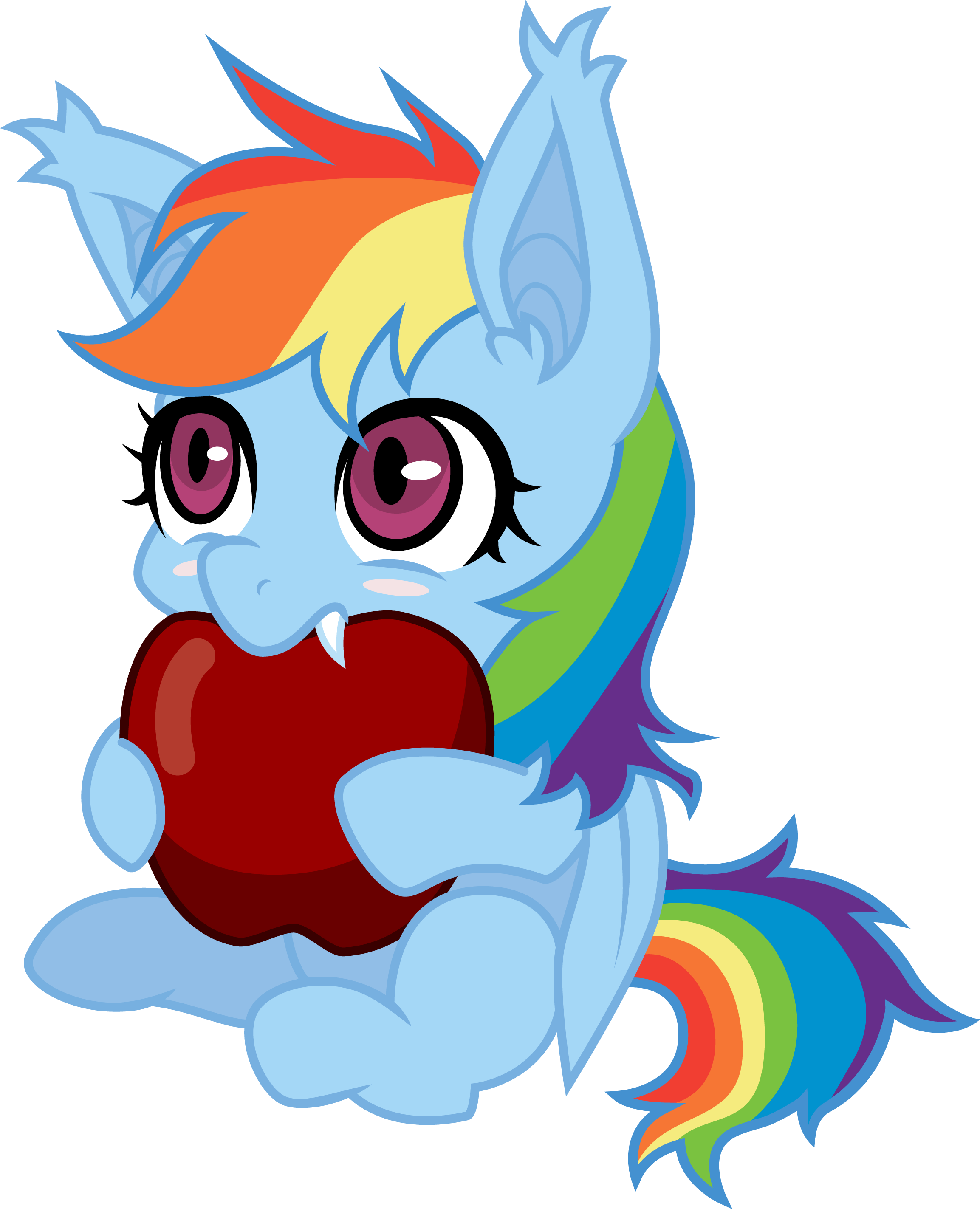 Youtube clipart dota 2. Rainbowbat my little pony