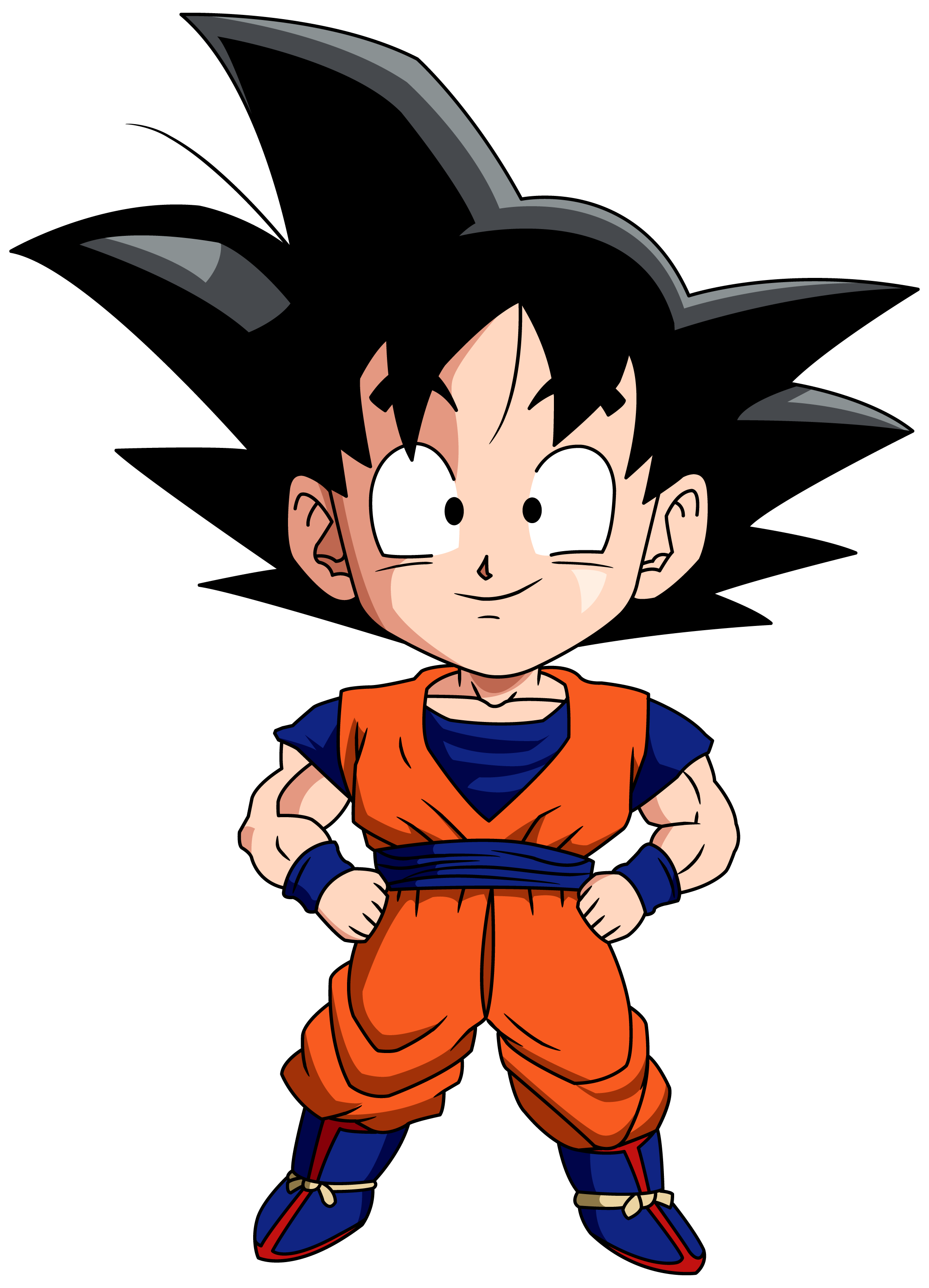 Goku chibi by maffo. Youtube clipart dragon ball z