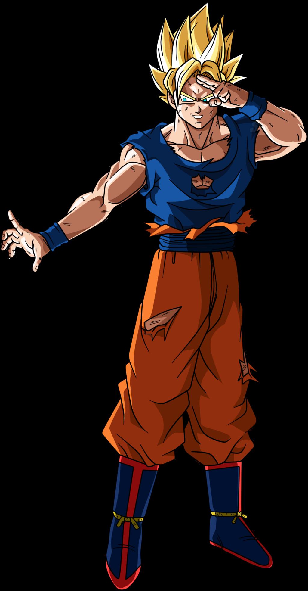 Goku genkidama saga boo. Youtube clipart dragon ball z
