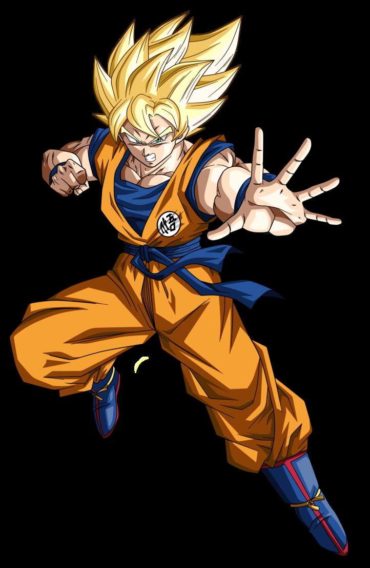 Goku ssj by koku. Youtube clipart dragon ball z