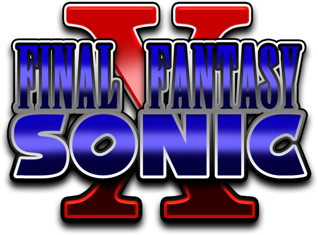 Sonic x fan made. Youtube clipart final fantasy