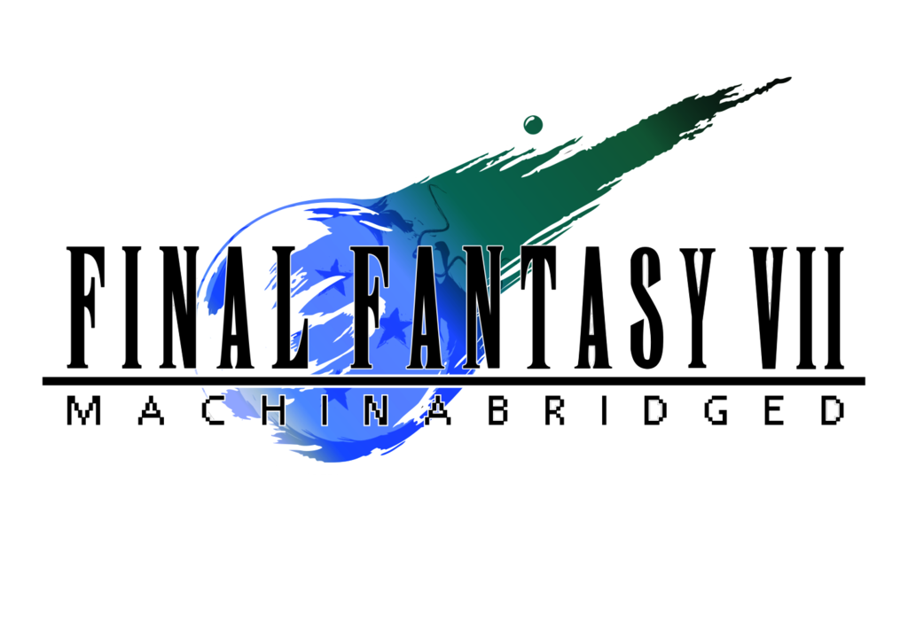 Youtube clipart final fantasy. Vii machinabridged team four