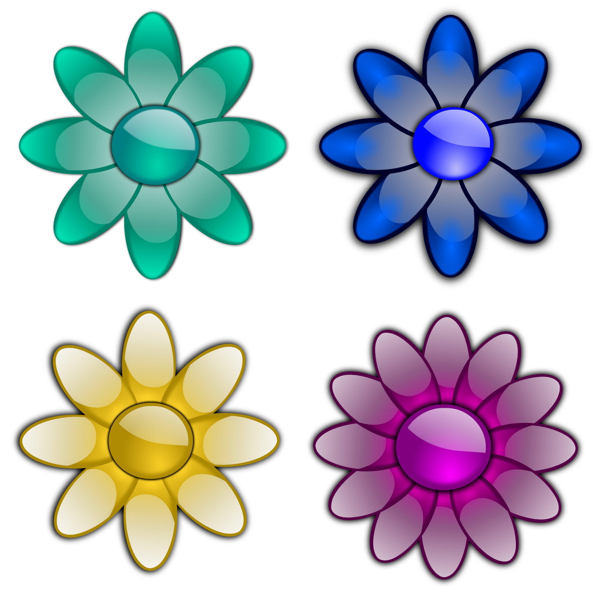 Clipartist net clip art. Youtube clipart flower