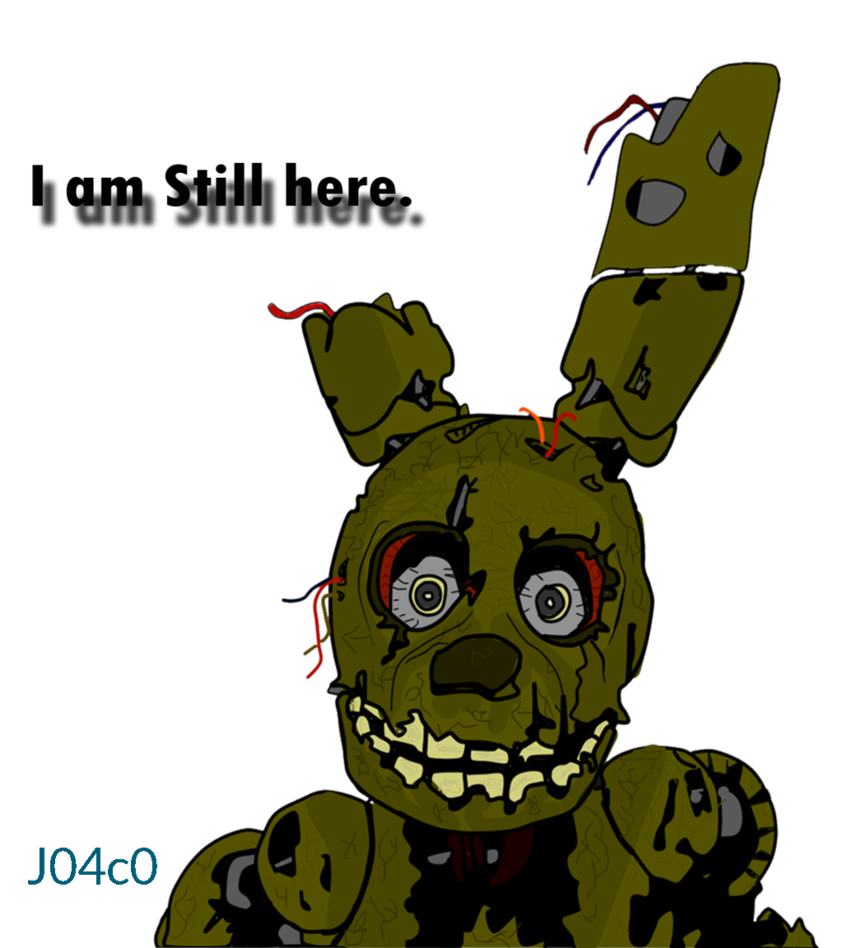 Youtube clipart fnaf. Springtrap five nights at
