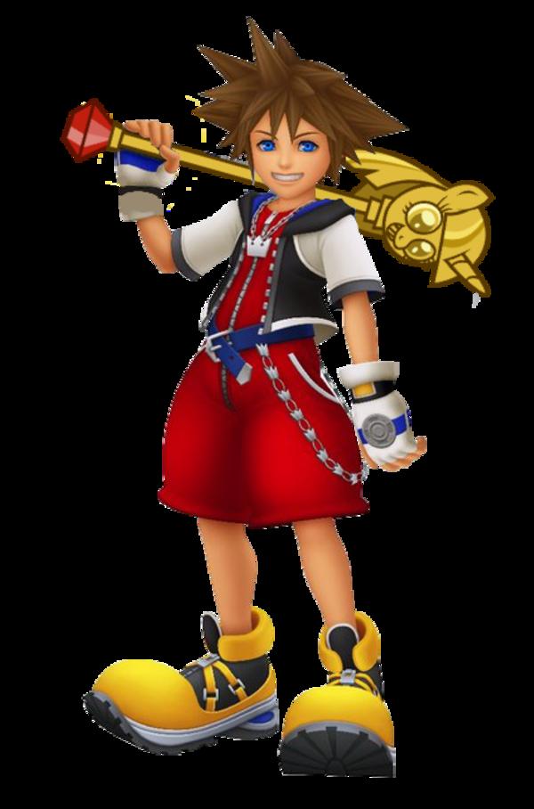 Sora s new keyblade. Youtube clipart kingdom hearts