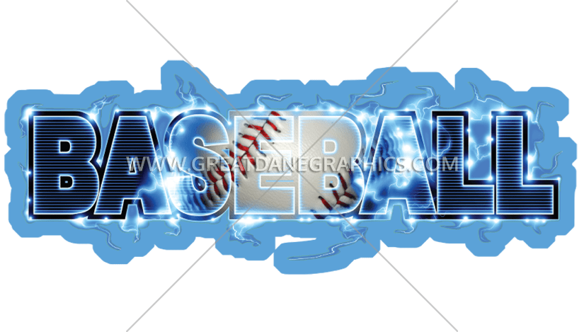Baseball type production ready. Youtube clipart lightning