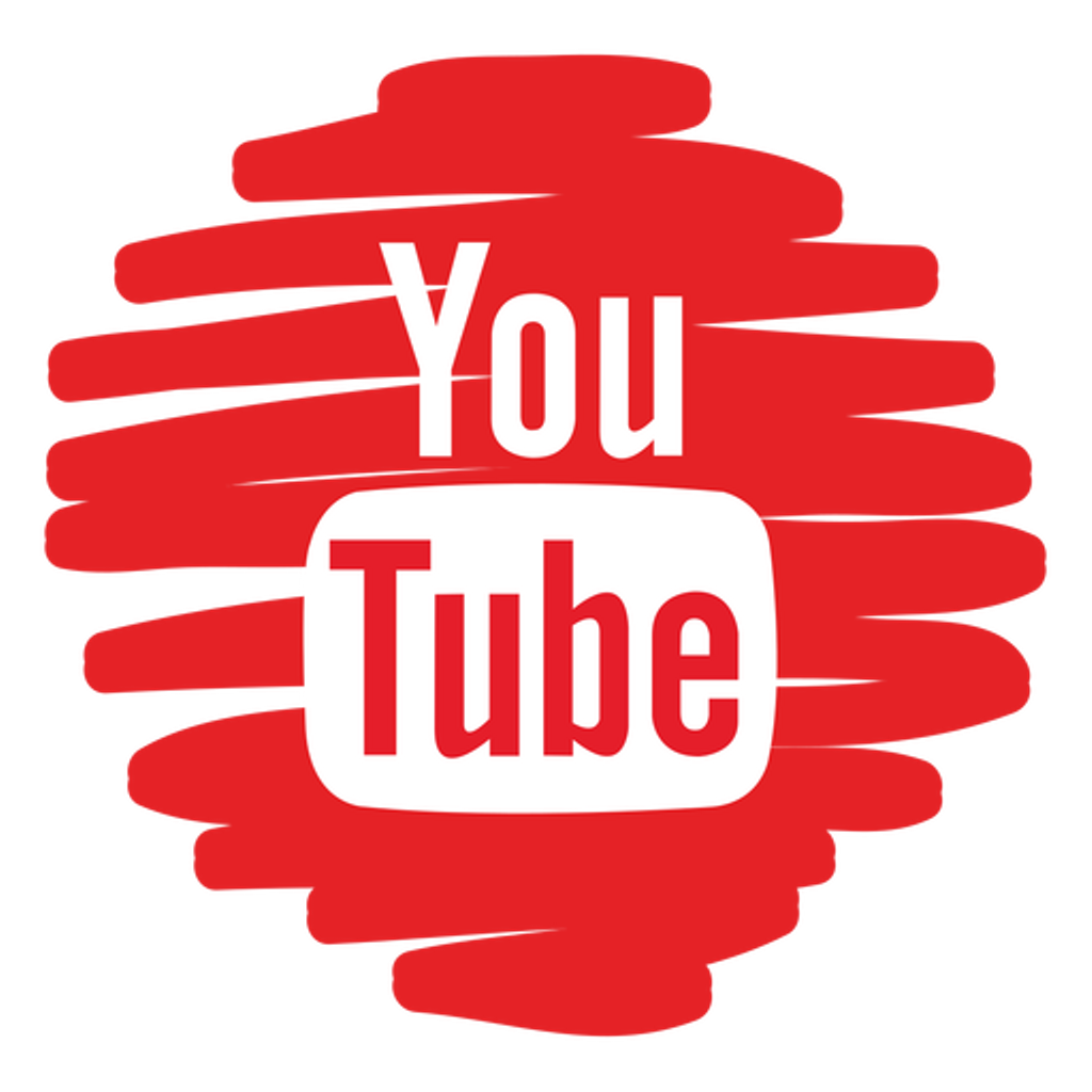 Youtube clipart logo. Sticker by megatop