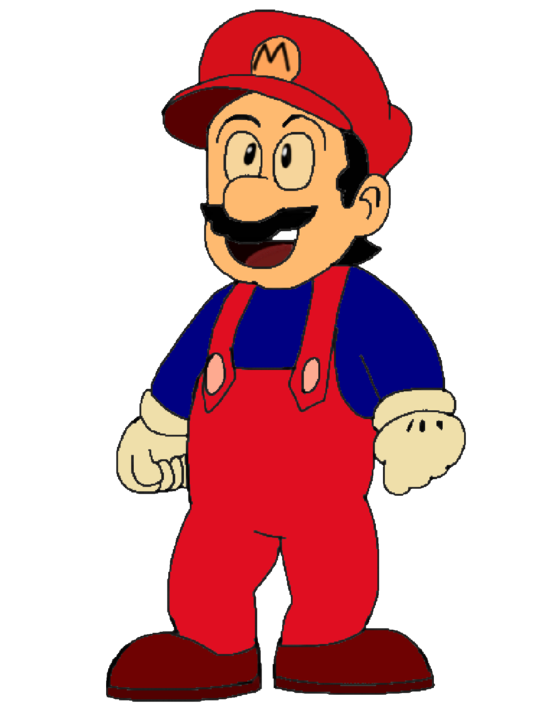 Anime png by apjsketch. Youtube clipart mario