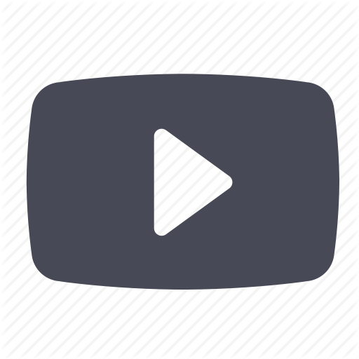 Youtube clipart movie. Free video player icon