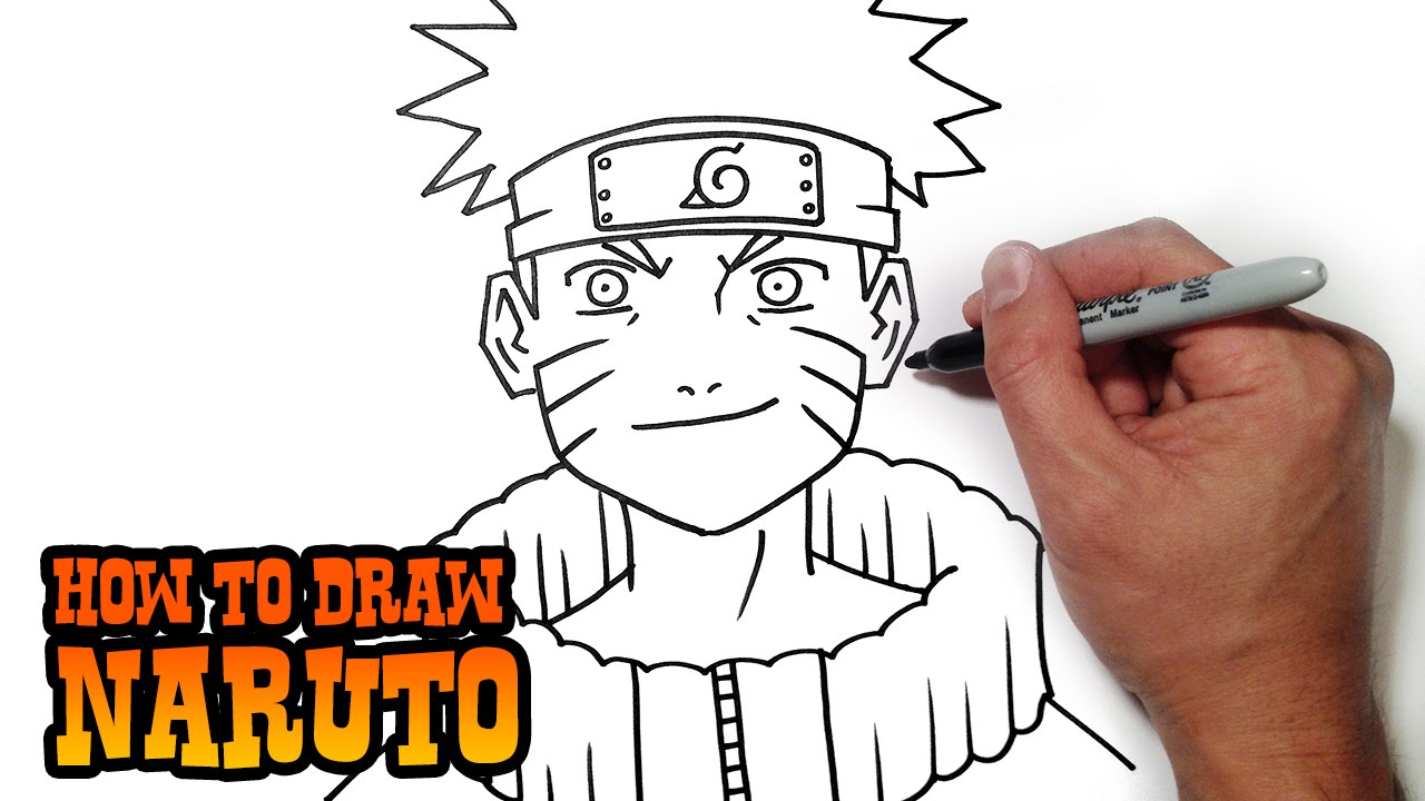Youtube clipart naruto. How to draw simple