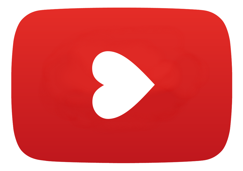 Youtube clipart nature. Heart logo ftestickers freetoedit