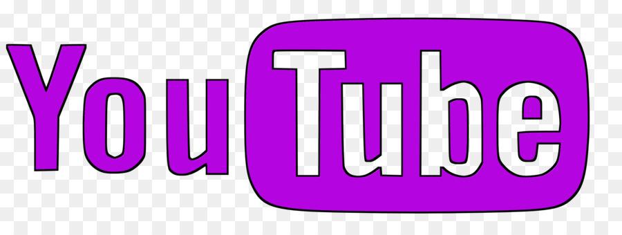 Symbol text transparent . Youtube clipart purple