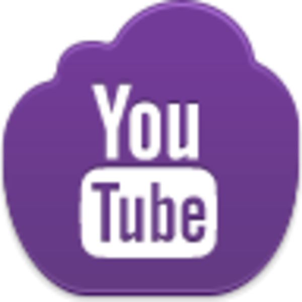 Youtube clipart purple. Icon free images at