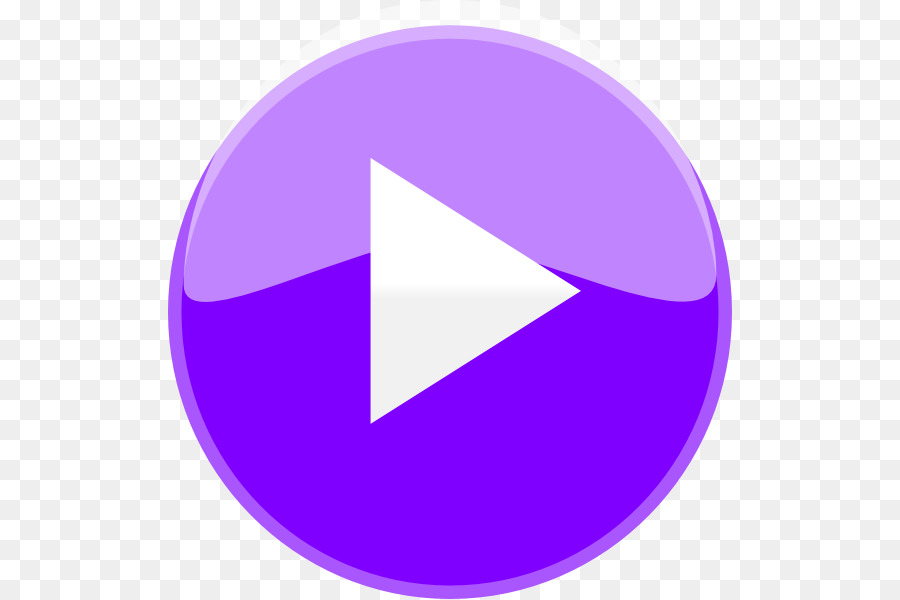Play button graphics . Youtube clipart purple