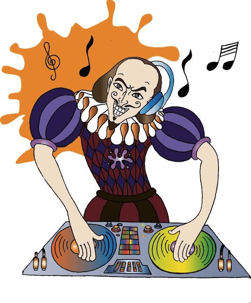 Shakespeare for schools transparent. Youtube clipart rap
