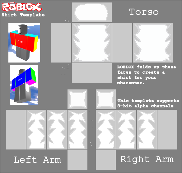 Youtube clipart roblox. Transparent t shirt template