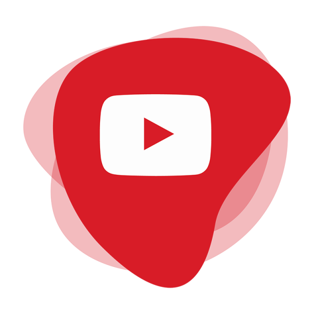 Youtube clipart simple. Logo icon social media