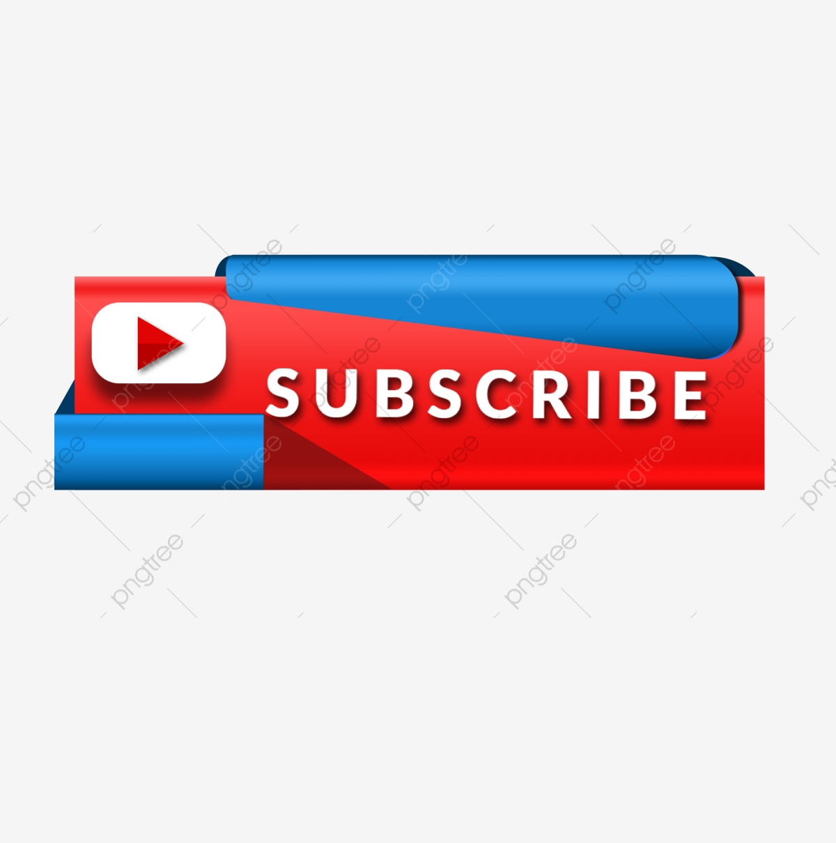 Subscribe icon and logo. Youtube clipart simple