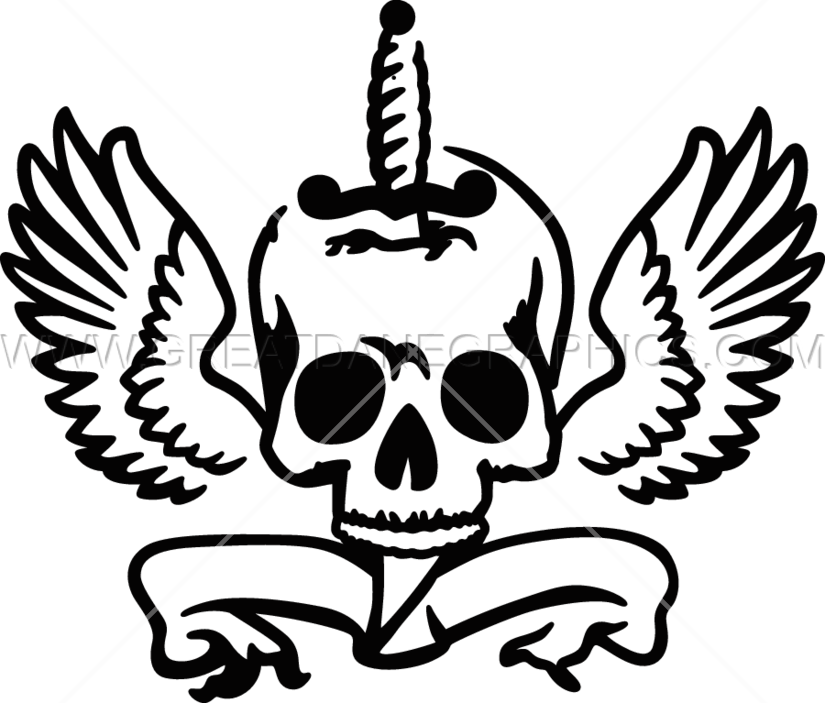 Youtube clipart skull. Knife in production ready