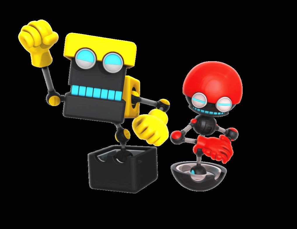 Orbot cubot boom sega. Youtube clipart sonic