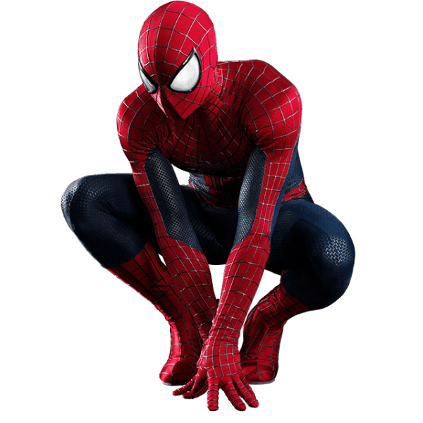 Spider man looking transparent. Youtube clipart spiderman