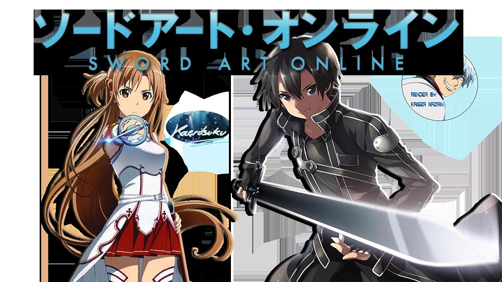Tv fanart image. Youtube clipart sword art online