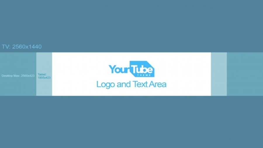 Download banner size . Youtube clipart template