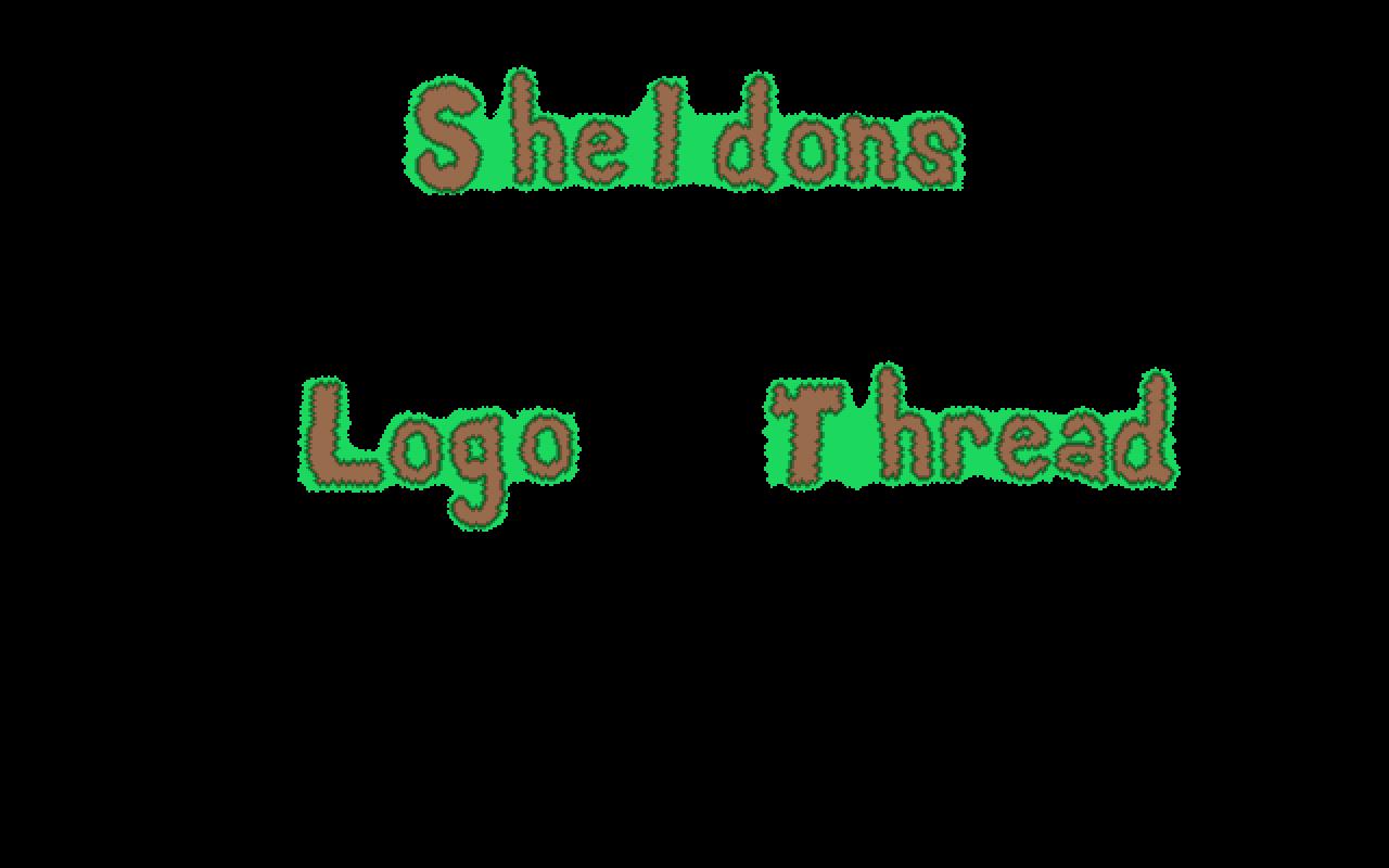 Logos pixel sheldons logo. Youtube clipart terraria