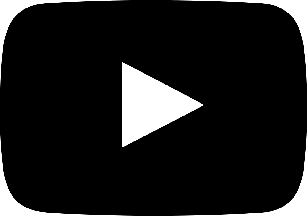Play button computer icons. Youtube clipart white