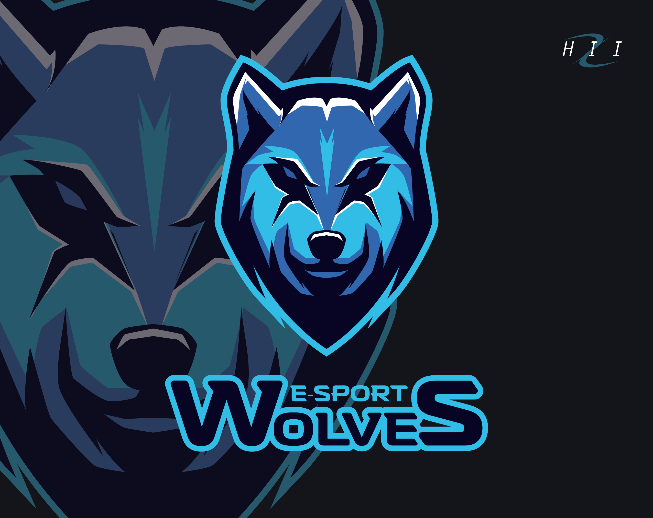 Youtube clipart wolf. Esport wolves logos pinterest