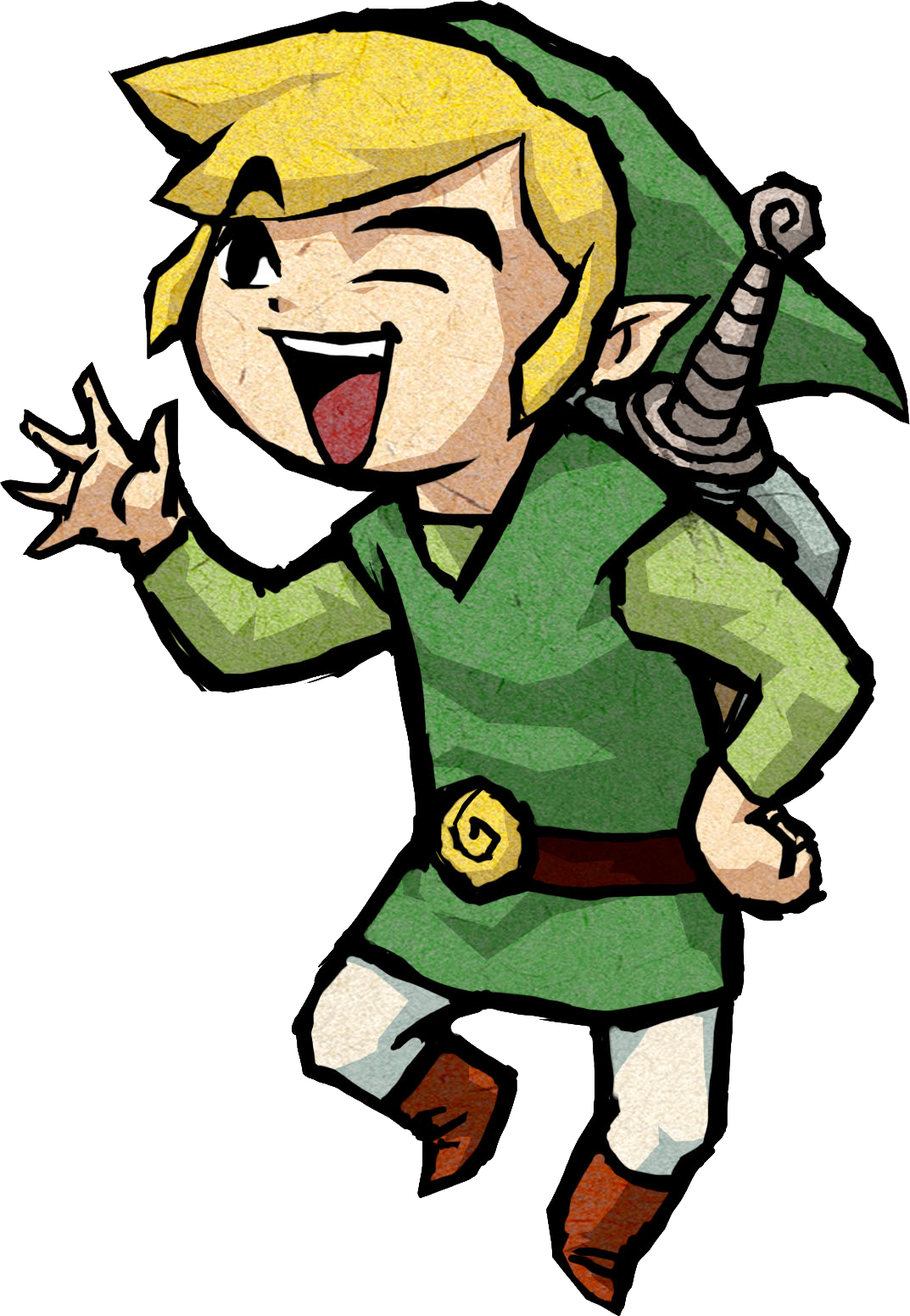 Rare wind waker official. Youtube clipart zelda