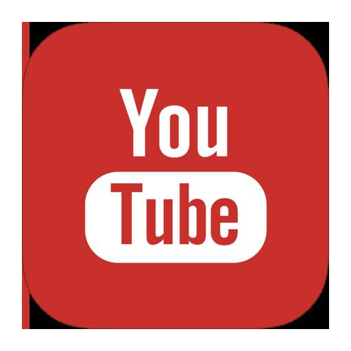 Ios style metro ui. Youtube icon png