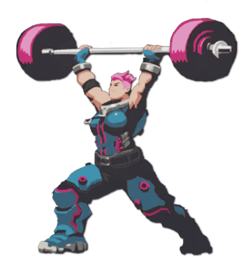 Zarya overwatch png. Image spray lift wiki